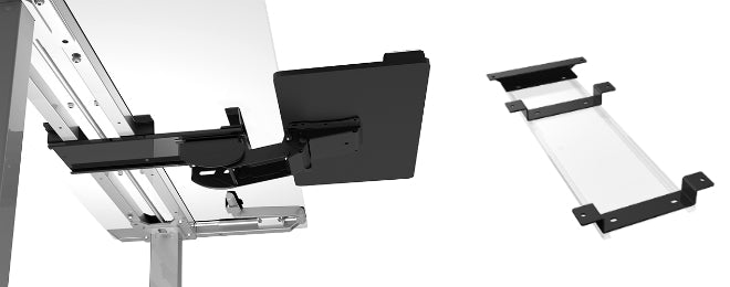 Esi Sit Stand Keyboard Tray System Choose A Platform