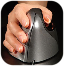 Vertical Mouse Handshake Grip