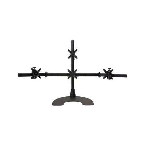 Ergotech Quad Monitor Desk Stand (1 Over 3)