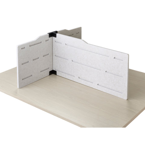 Desktop Study Carrel - Privacy Panel for 2-4 Users