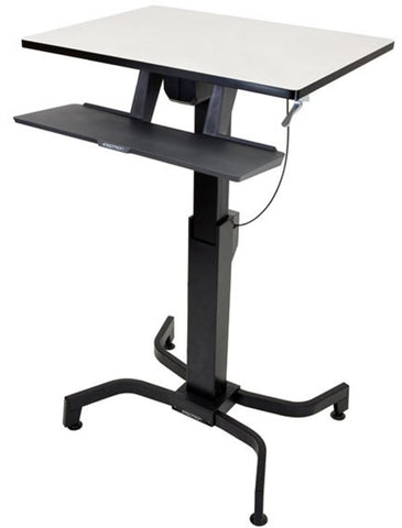 Ergotron WorkFit-PD Sit-Stand Adjustable Height Desk