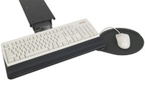 Within Reach Swivel Keyboard Tray System