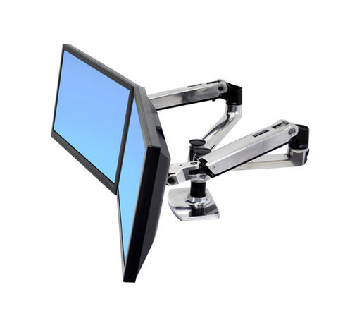Ergotron LX Dual Side-by-Side Monitor Arm