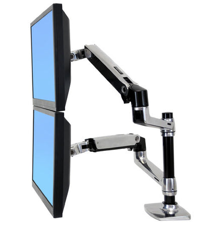 Ergotron LX Dual Stacking Flat Panel Monitor Arm