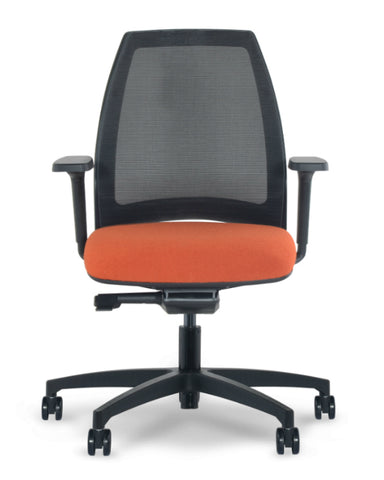 VIA Seating 4U Mesh Back Ergonomic Task Chair