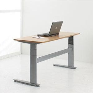 ConSet 2-Column Sit-Stand Electric Height Adjustable Desk 501-27