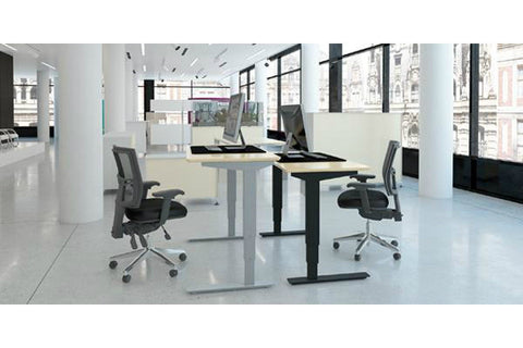 ConSet 3-Stage Electric Sit-Stand Height Adjustable Desk 501-37