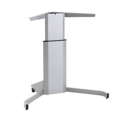 ConSet Quick Ship 501-7 Single-Column Sit-Stand Electric Height Adjustable Desk w/ 42 x 30 Top