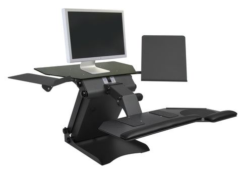 HealthPostures Taskmate Executive Electric Sit-Stand Desk
