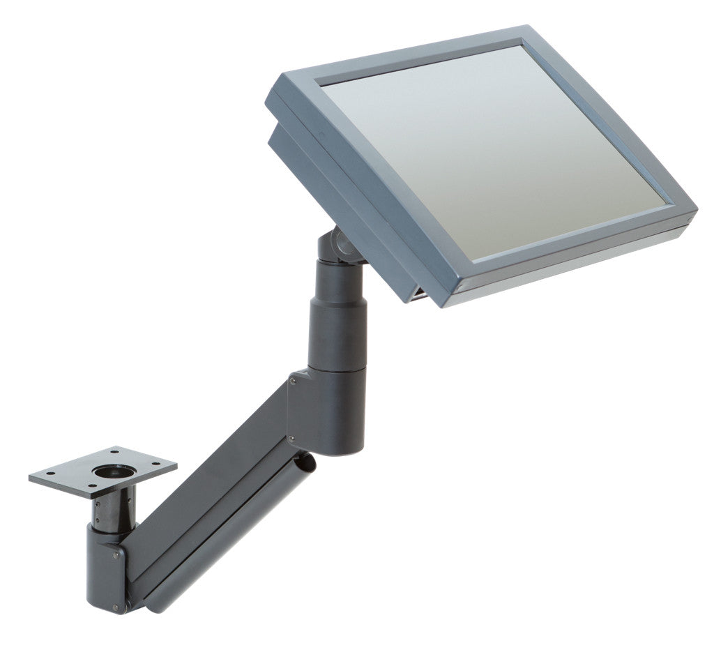 Innovative 7020 Extended Reach Under-Table LCD Monitor Arm