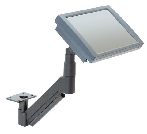 Innovative 7020 Extended Reach Under-Table LCD Monitor Arm Mount