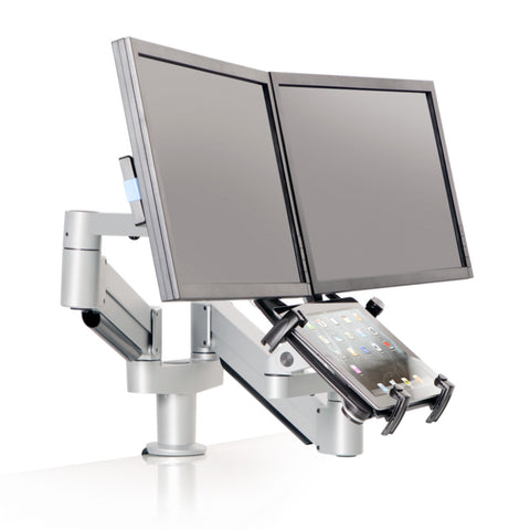Innovative Switch Adjustable Tablet & Dual LCD Mount