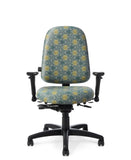 Office Master 7780 Paramount Medium Adj. Lumbar Ergonomic Task Chair