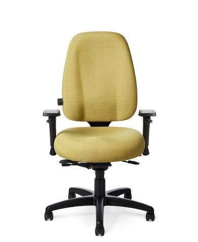 Office Master 7878 Paramount Large Adjustable Lumbar Task Chair