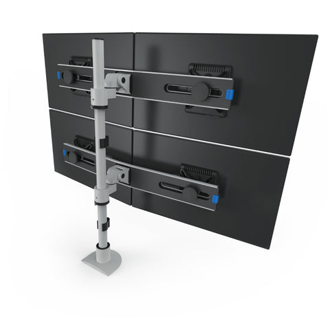 Innovative Switch Two-Tier Quad LCD Mount