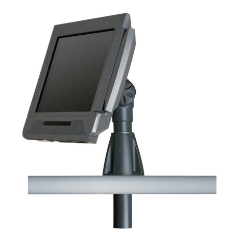 Innovative Height Adjustable POS Through-Counter Mount