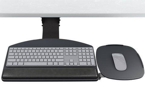ESI Sit-Stand Dial Tilt Keyboard Tray System - Choose a Platform