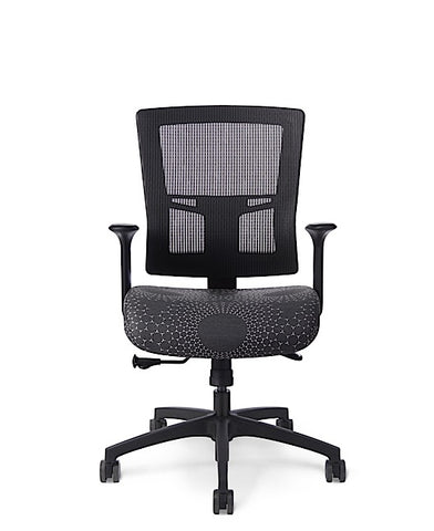 Office Master AF504 Affirm Simple Mid-Back Mesh Chair