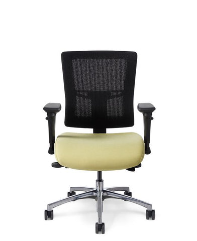 Office Master AF524 Affirm Executive Mid-Back Mesh Chair