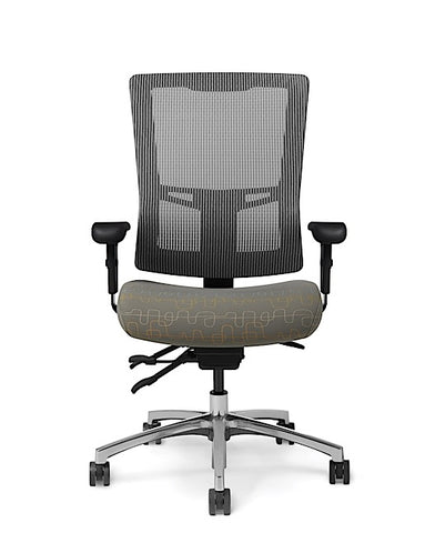 Office Master AF578 Affirm Simple Task High-Back Mesh Chair