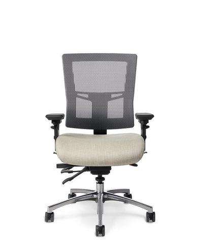 Office Master AF584 Affirm Multi-Function Mid-Back Mesh Chair