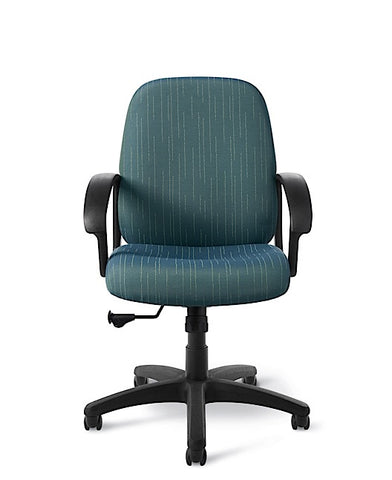 Office Master BC86 Budget Mid-High Back Manager's Ergonomic Chair