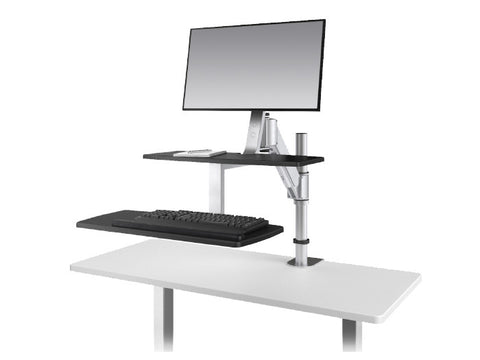 ESI ErgoRise Climb1 Single Sit-to-Stand Workstation