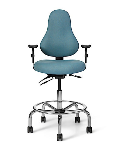 Office Master DB52 Discovery Low Back Ergonomic Drafting Stool