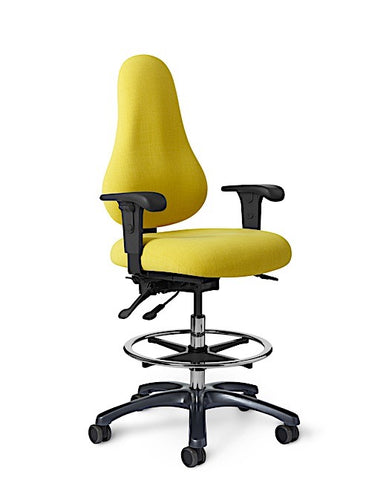 Office Master DB56 Discovery High Back Ergonomic Drafting Stool