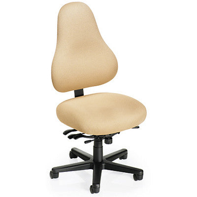 Office Master EFDB78-EVDB78 Discovery X-Lge High-Back ESD Task Chair