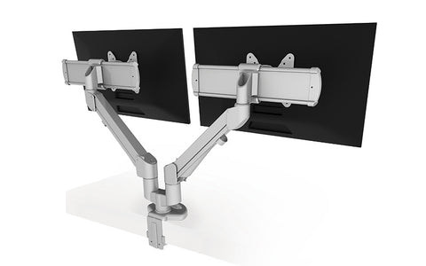 ESI EDGE2-MS Dual Horizontal Slider Monitor Arm