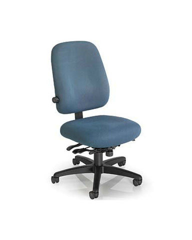 Office Master EF78-EV78 Electrostatic Discharge Mid-Back Adjustable Lumbar Ergonomic Task Chair