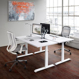 Workrite Fundamentals EX 2-Leg Electric Height Adjustable Desk