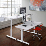 Workrite FDEX-2 Fundamentals EX 2-Leg Electric Height Adjustable Desk