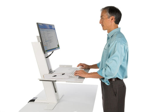 Humanscale QuickStand Desktop Sit-Stand Workstation