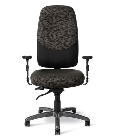 Office Master IU79PD 24-7 Intensive Use Heavy-Duty High-Back Chair