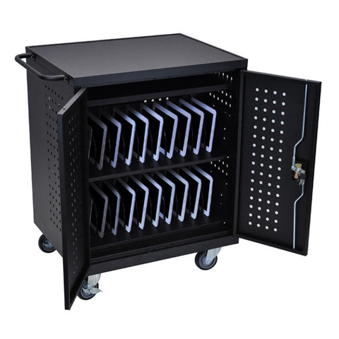 Luxor LLTM42-B 42 Tablet/Chromebook Charging Cart
