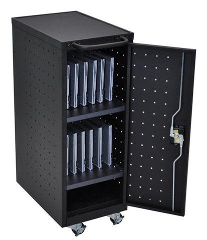 Luxor LLTP12-B 12 Tablet/Chromebook Charging Cart
