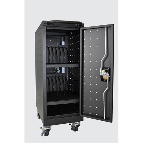 Luxor LLTP16-B-V2 16 Tablet/Chromebook Charging Cart
