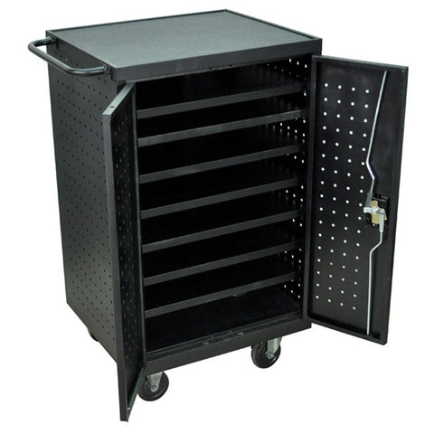 Luxor LLTS12-B - 12 Tablet/Chromebook Charging Cart