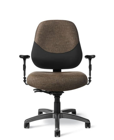 Office Master MX84PD Maxwell Large-Tall 24-7 Intensive Use Task Chair