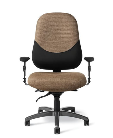 Office Master MX88PD Maxwell Large-Extra Tall 24-7 Intensive Use Chair