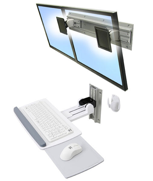 Ergotron Neo Flex Wall Mount Keyboard Tray Ergo Experts