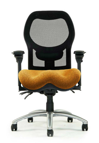 Neutral Posture NPS1700 Chair, Mesh Back, Med. Seat, Deep Contour