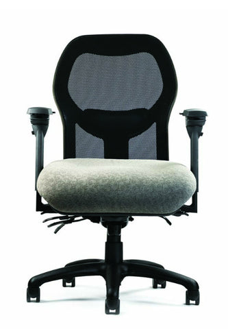 Neutral Posture NPS1800 Chair, Mesh Back, Large Seat, Min. Contour