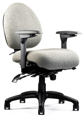Neutral Posture NPS5500 Chair, Mid-Size Back, Med. Seat, Min. Contour