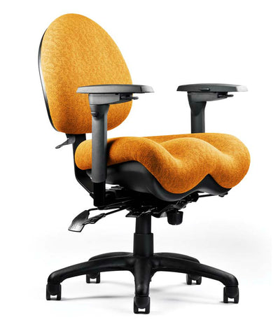 Neutral Posture NPS5700 Chair, Mid-Size Back, Med. Seat, Deep Contour