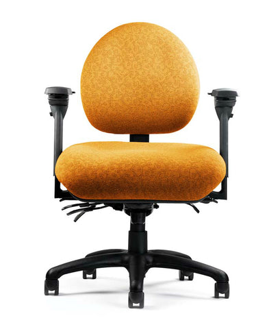 Neutral Posture NPS5800 Chair, Mid-Size Back, Large Seat, Min. Contour
