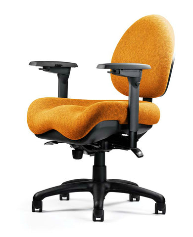 Neutral Posture NPS5900 Chair, Mid-Size Back, Large Seat, Deep Contour
