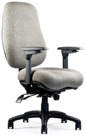 Neutral Posture NPS6600 Chair High/Wide Back, Med. Seat, Mod. Contour